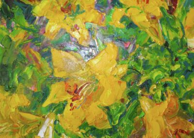"Ken McIndoe, ""Yellow Lillies"""