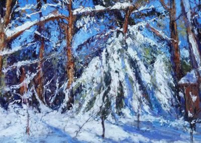 "Maria Marino, ""Woods In Winter"""