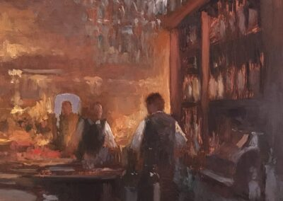 "Joe Gyurcsak, ""Bar Side"""